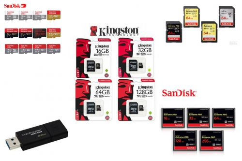Data Cards & Storage Devices