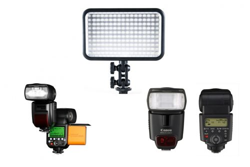 Flashes & Video Lights