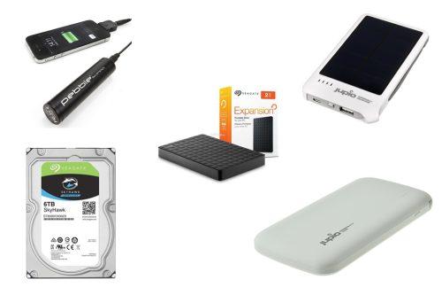 Hard Disk Drives & USB Thumb Drives